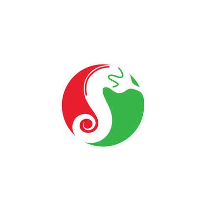 Chili icon vector illustration design template