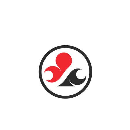 poker club card game icon vector concept design template web