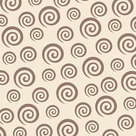 vortex and spiral background vector illustration design template Illustration