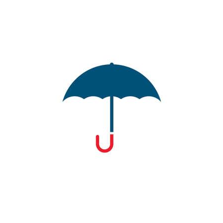 umbrella  icon  vector illustration template web