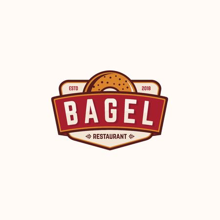 Bagel Restaurant vector logos