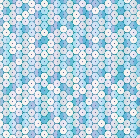 Geometric background of colored circles