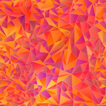 Geometric background of colored triangle Illustration