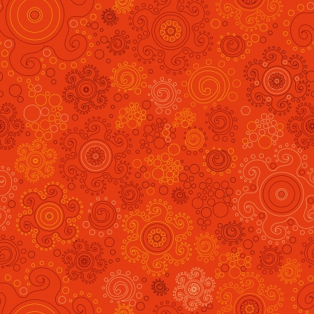 bright vector seamless background in ethnic style Stock Vector - 20889352