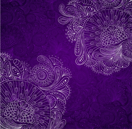 Decorative vector background  inviolet tones Vector