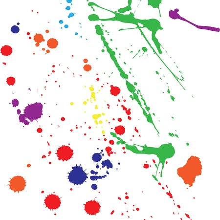 Abstract background with color blots