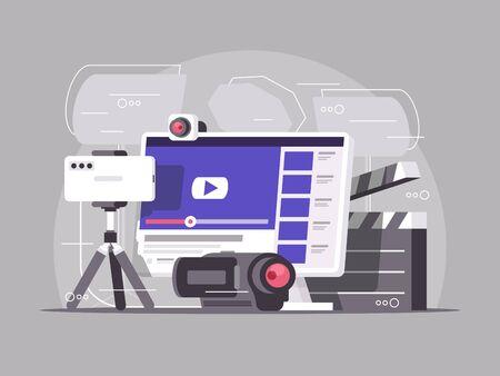 Video content production concept