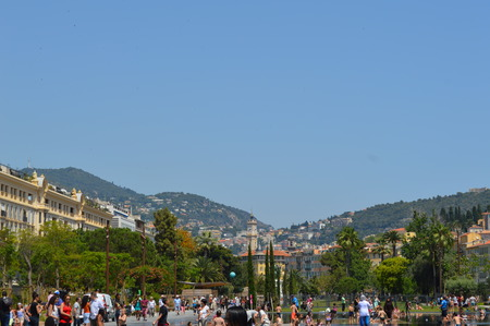 azure coast: France Nice Central Square