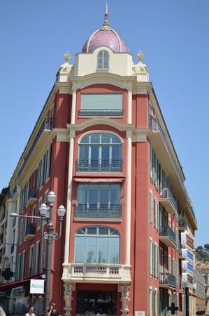 riviera: Nice architecture French Riviera Editorial