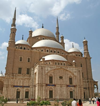 Mosque of Mohammed Ali at Cairo, Egypt Stock Photo - 387085