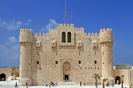 alexandria egypt: Citidel at the Alexandria, Egypt