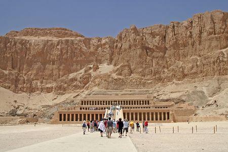 louxor: Hatshepsut Temple de Louxor, Egypte