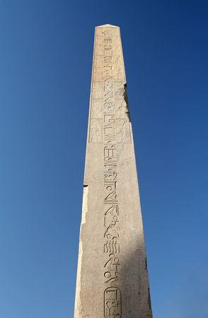 Obelisk at Karnak Temple, Egypt photo