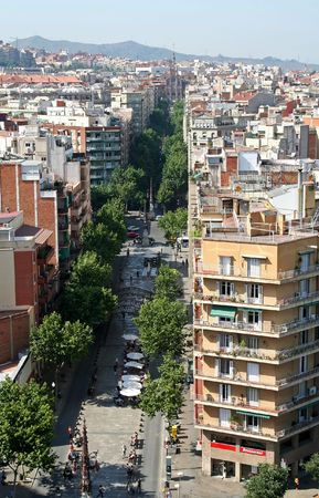City of Barcelona, Spain Stock Photo - 516204