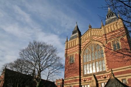 University campus of Leeds in the UK Stock Photo