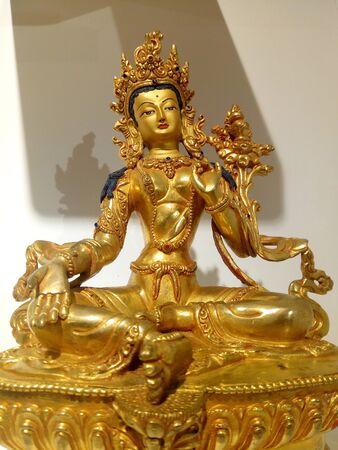 The compassionate Goddest of Green Tara Imagens
