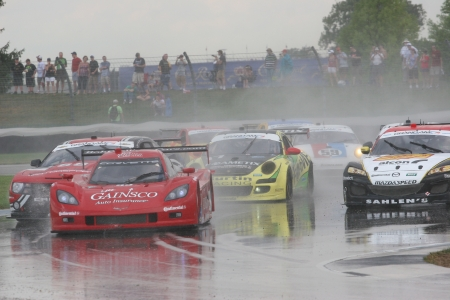7-27-2012 Grand Am race at Indianapolis in rain