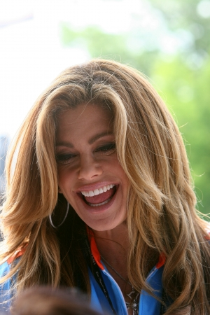 5-29-2011 Kathy Ireland at Indianapolis Speedway on race day