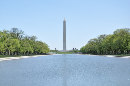 washington monument: Washington Monument in the center of Washington DC
