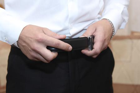 stylish guy (belt)