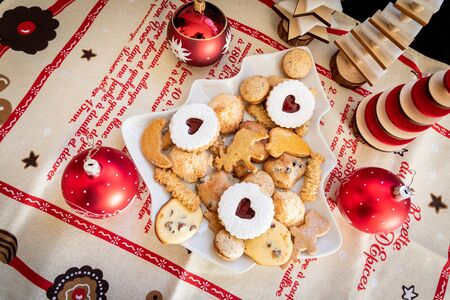 Christmas cookies in Alsace