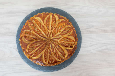 Galette des rois during the epiphany