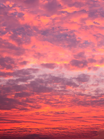gules: red color cloud Stock Photo