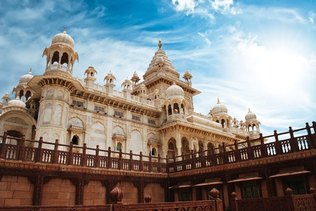 maharaja: Jaswant Thada in Jodhpur, Rajasthan
