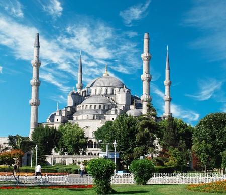 blue mosque: The Blue Mosque, (Sultanahmet Camii), Istanbul, Turkey