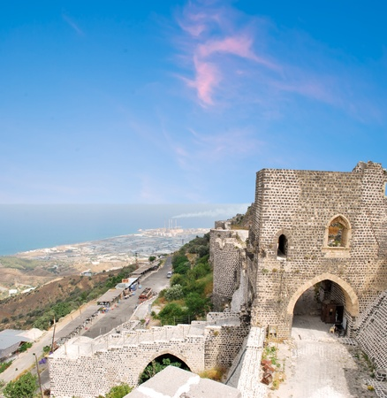 Kalat-al-Markab,view from the castle