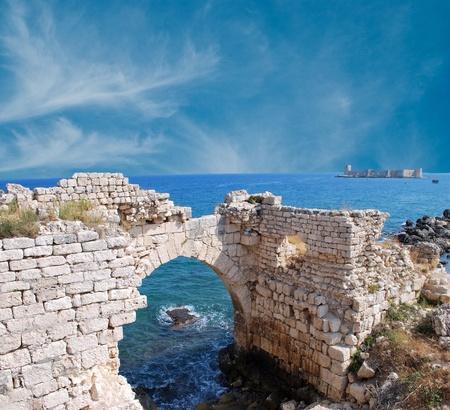crusade: Kizkalesi (Maidens Castle), near Mersin, Turkey