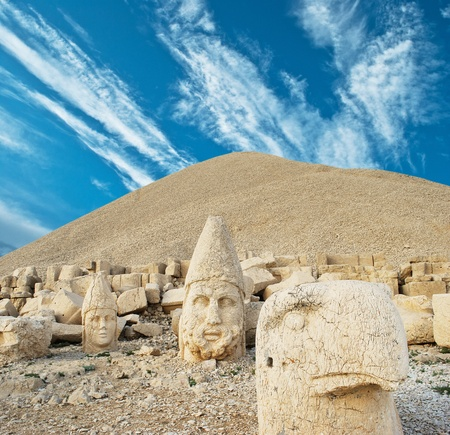 anatolia: Nemrut Dagi in Turkey