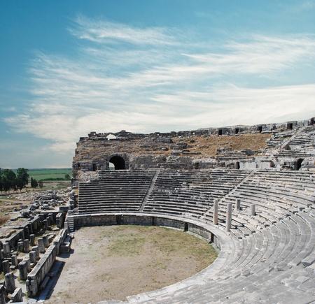 theater in Milet  Stock Photo - 11720052