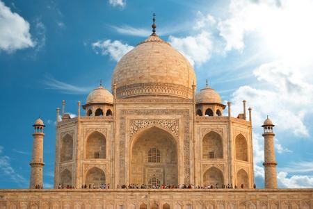 jehan: Taj Mahal in India  Stock Photo