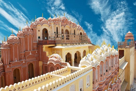 the magnificent: Hawa Mahal, the Palace of Winds, Jaipur, Rajasthan, India.