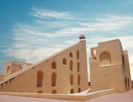 jaipur: Astronomical instrument at Jantar Mantar observatory - Jaipur, Rajasthan, India