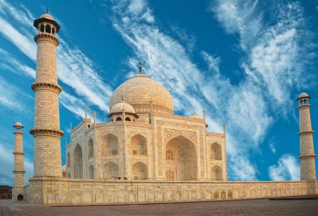 jehan: Taj Mahal in India  Stock Photo