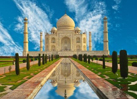 glint: Taj Mahal en la India