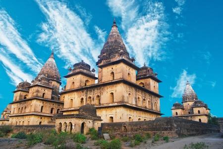 rajput: Palace in Orcha, Madhya Pradesh, India