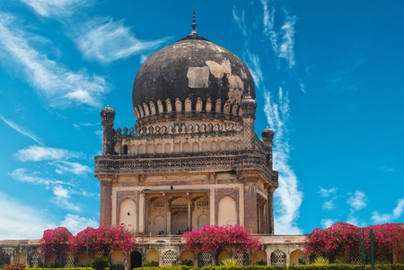 golconda: Quli Qutb Shahi Tombs  Stock Photo