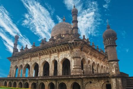 magnificence: Ibrahim Rouza in Bijapur, Karnataka, India, Asia  Stock Photo