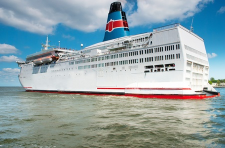 ferries: ferry ship  Stock Photo