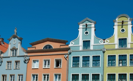 arthur: historic city of Gdansk, Poland