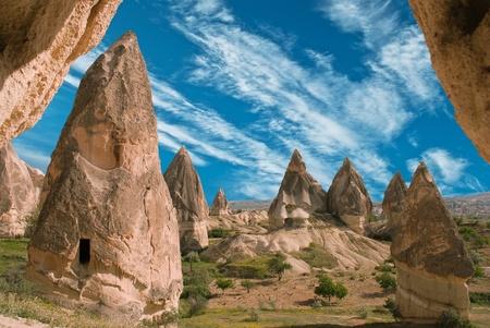 kappadokien: Ansicht von Kappadokien
