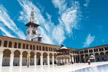 syria: Syria. Damascus. Omayyad Mosque (Grand Mosque of Damascus)