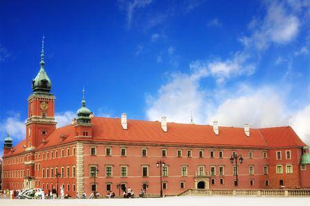 copula: Royal castle in Warsaw