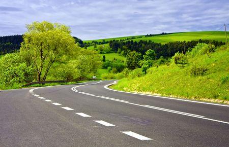 Asphalt road Stock Photo - 6033992