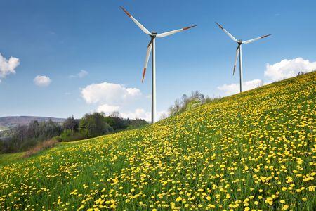 windfarm: Instalaciones  Foto de archivo