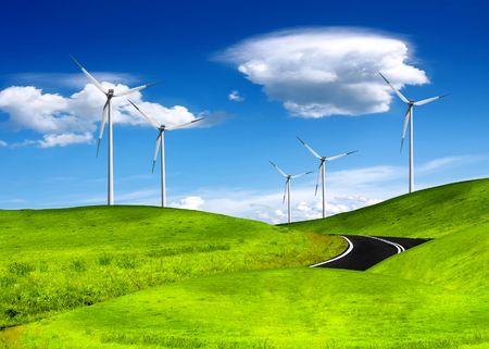 Alternative energy Stock Photo - 6117370