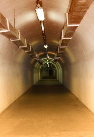 Underground tunnel photo